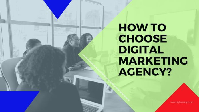 how to choose the best digital marketing agency